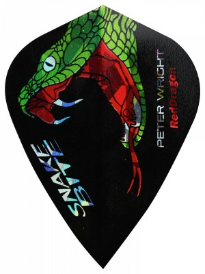 Red Dragon letky Peter Wright Snakebite Holographic kite RD4