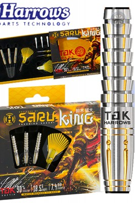 Harrows šipky Saru King 20g soft