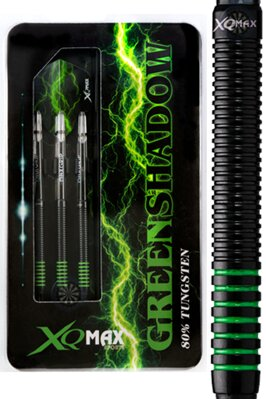 XQMax Darts šipky GREEN SHADOW soft 18g
