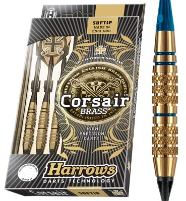 Harrows šipky Corsair 16gK2 Blue
