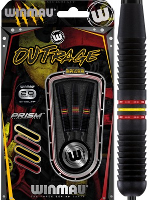 Winmau šipky Outrage steel 20g