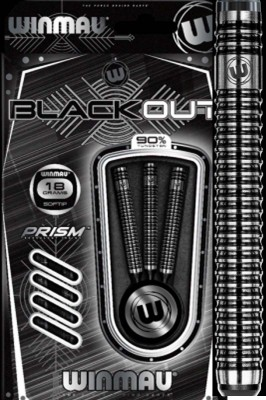 Winmau šipky Blackout 18g soft