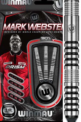 Winmau šipky Mark Webster 18g soft