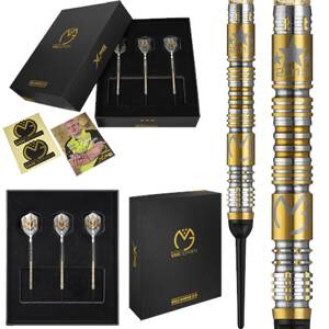 XQ Max Darts šípky MvG World Champion Limited Edition soft 18g