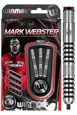 Winmau šipky Mark Webster steel 21g