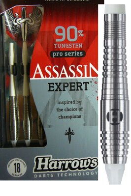 Harrows šipky assassin expert 18g style AX1